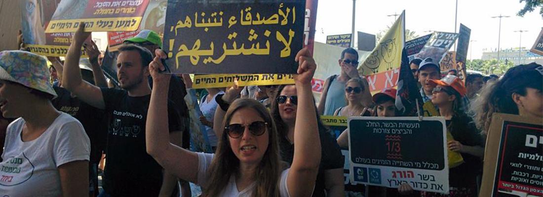 אוניברסיטת תל אביב צעדת כולנו קולם